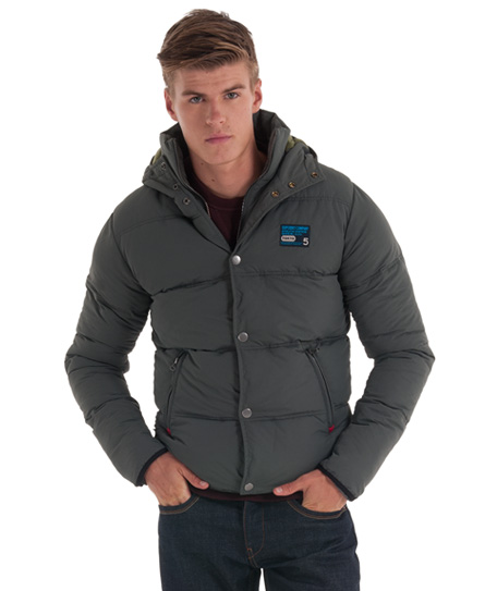 New-Mens-Superdry-Hooded-Polar-Camping-Jacket-Grey