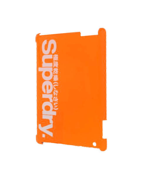 New-Superdry-iPad-2-Shell-Case-Orange