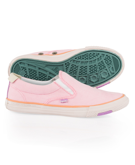 nouvelles baskets superdry loot pour femme rose pastel ac ebay. Black Bedroom Furniture Sets. Home Design Ideas