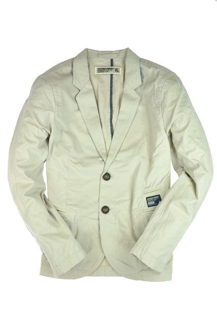 New-Mens-Superdry-Commodity-Blazer-Jacket-Stone-Beige