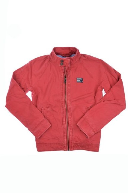 New-Mens-Superdry-Commodity-Harrington-Jacket-Dusted-Red-AB