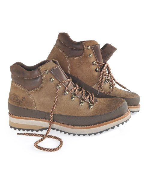 New Mens Superdry Expedition Hiking Boots Tan Suede