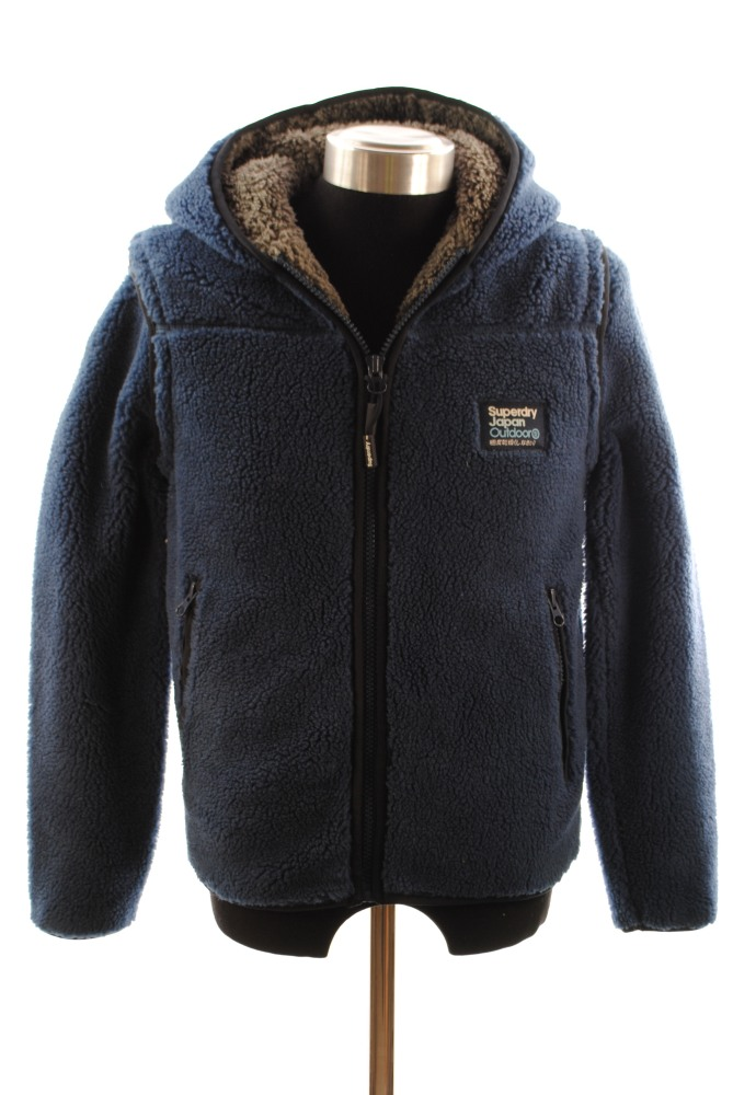 New Mens Superdry Tahoe Jacket Navy