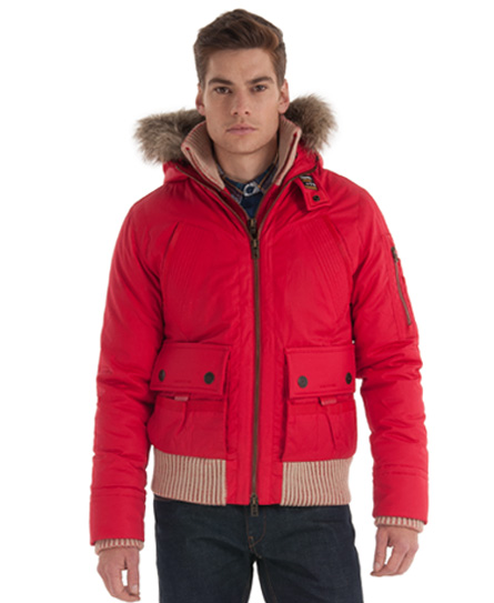 Superdry mens alpine jacket