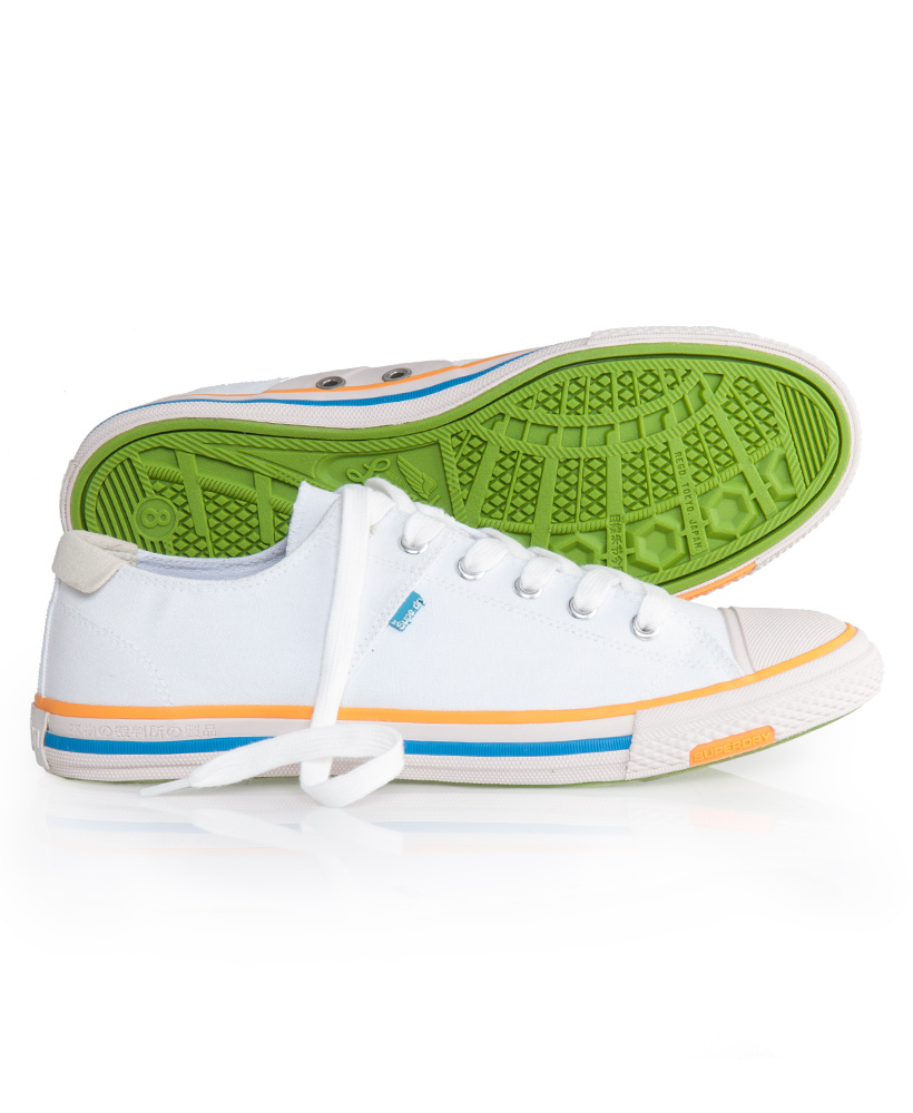 New-Mens-Superdry-Super-Series-Low-Top-Trainers-White-AA