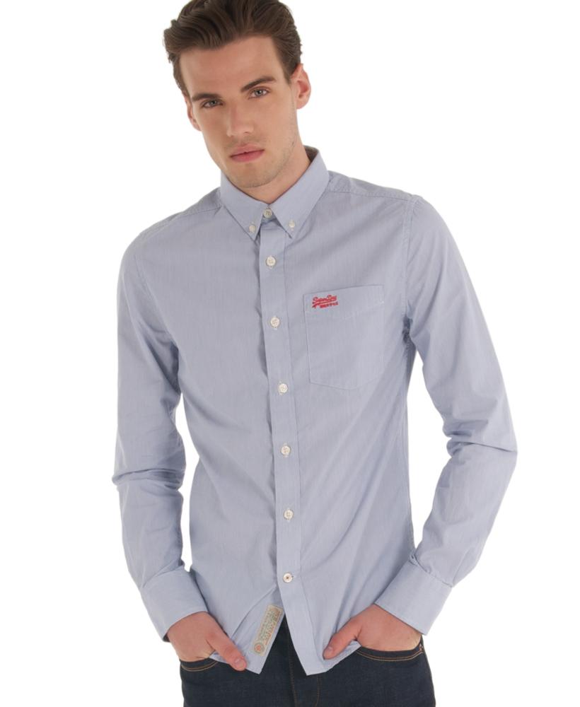New Mens Superdry New York Button Down Shirt Premium