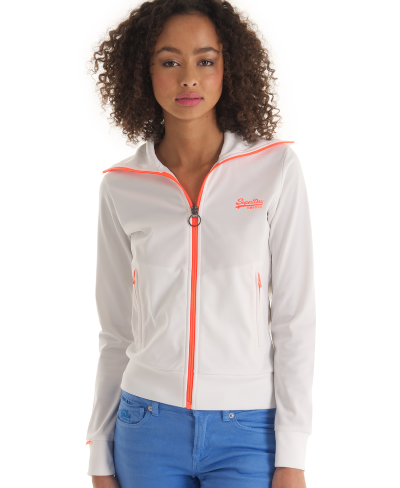 New-Womens-Superdry-Heights-Track-Top-White