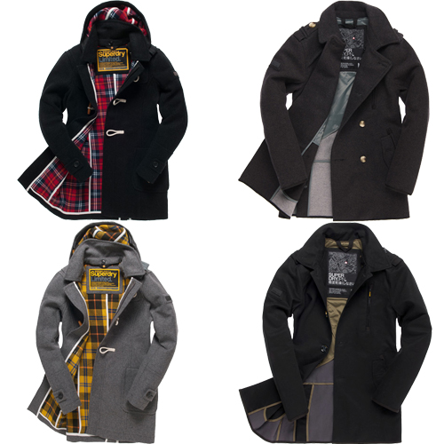 New-Mens-Superdry-Premium-Jackets-various-colours