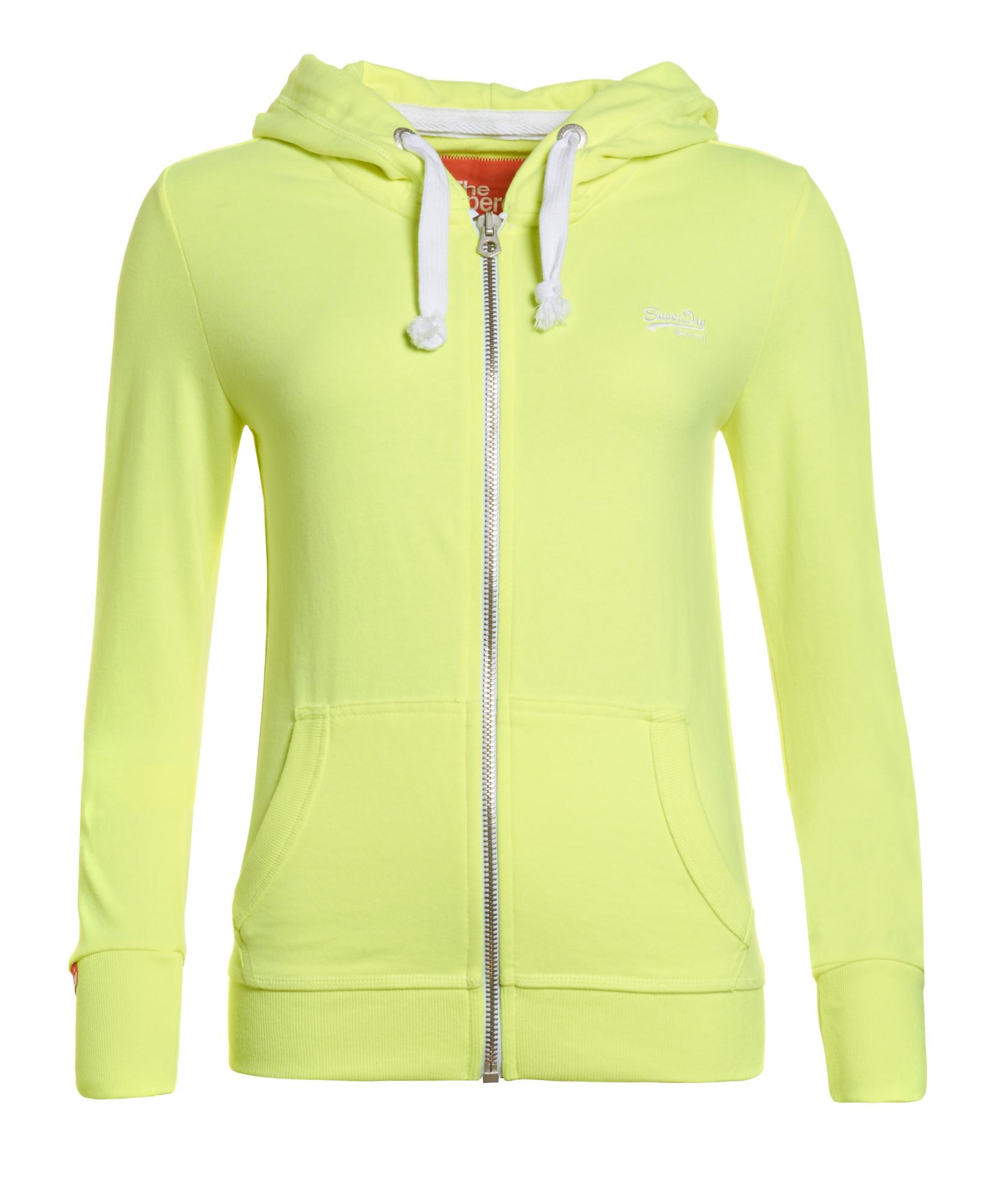 Neon hoodies