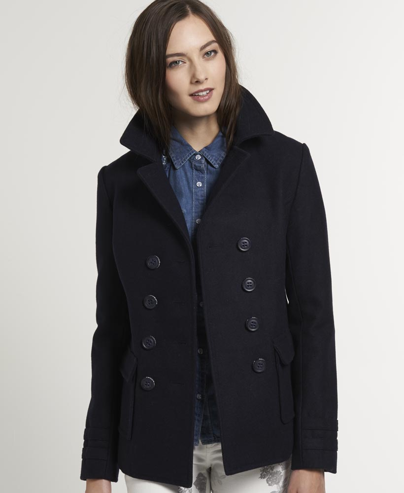 Pea coat women uk