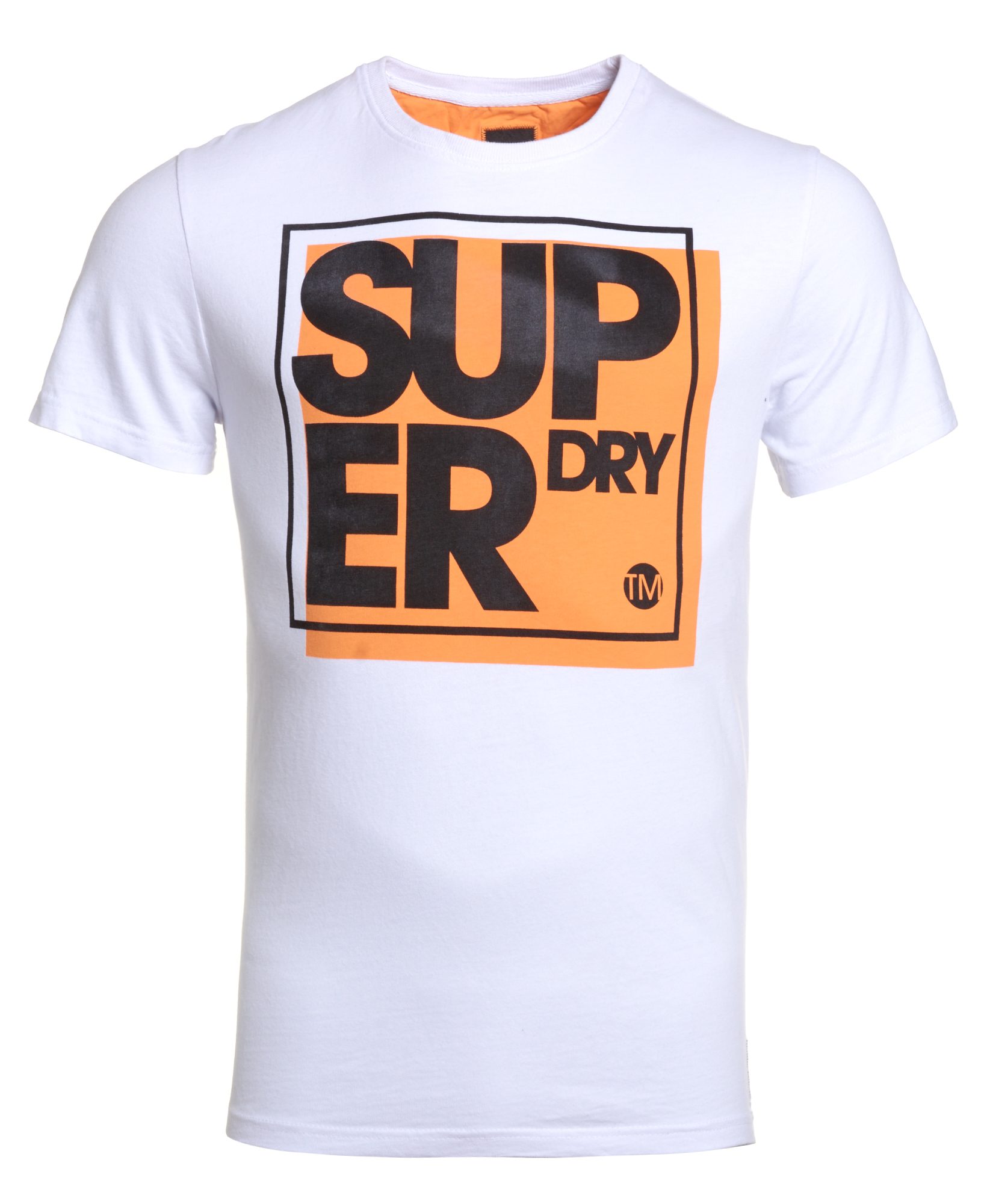 new mens superdry factory second boxed o process t shirt optic. Black Bedroom Furniture Sets. Home Design Ideas