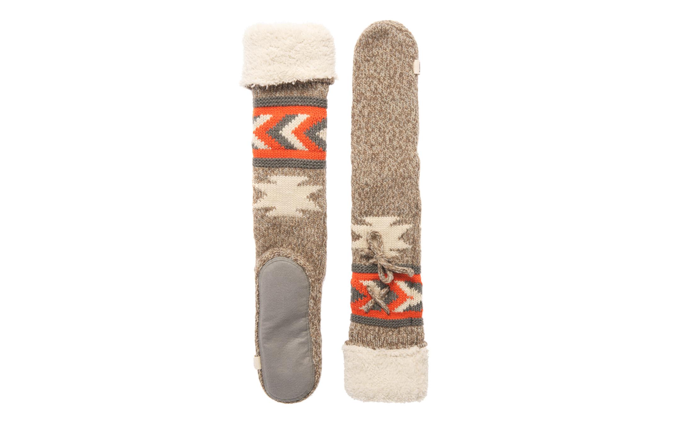 New Womens Superdry Navajo Slipper Socks Buffalo Brown WACC1   EBay