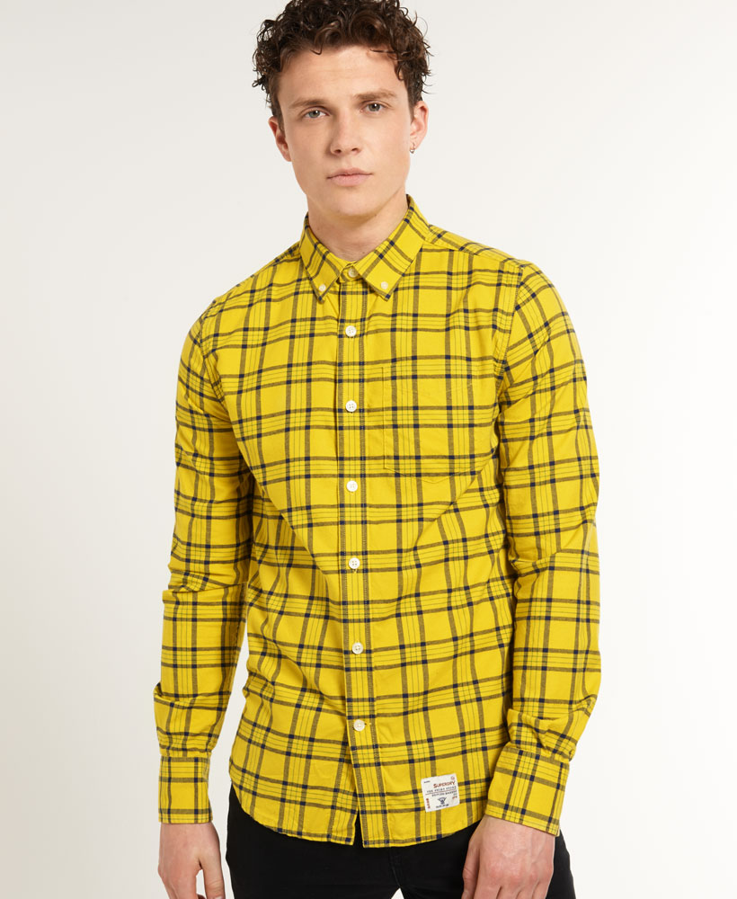Mens Yellow Shirt | Is Shirt