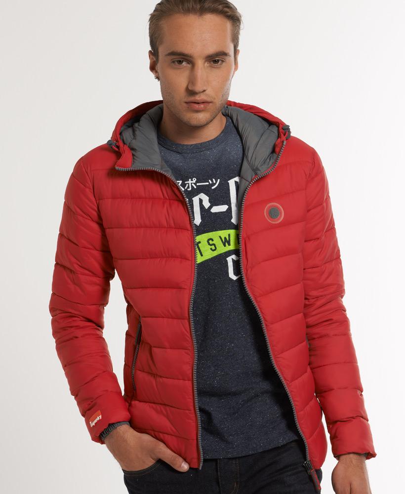 new mens superdry fuji jacket cherry red ebay. Black Bedroom Furniture Sets. Home Design Ideas