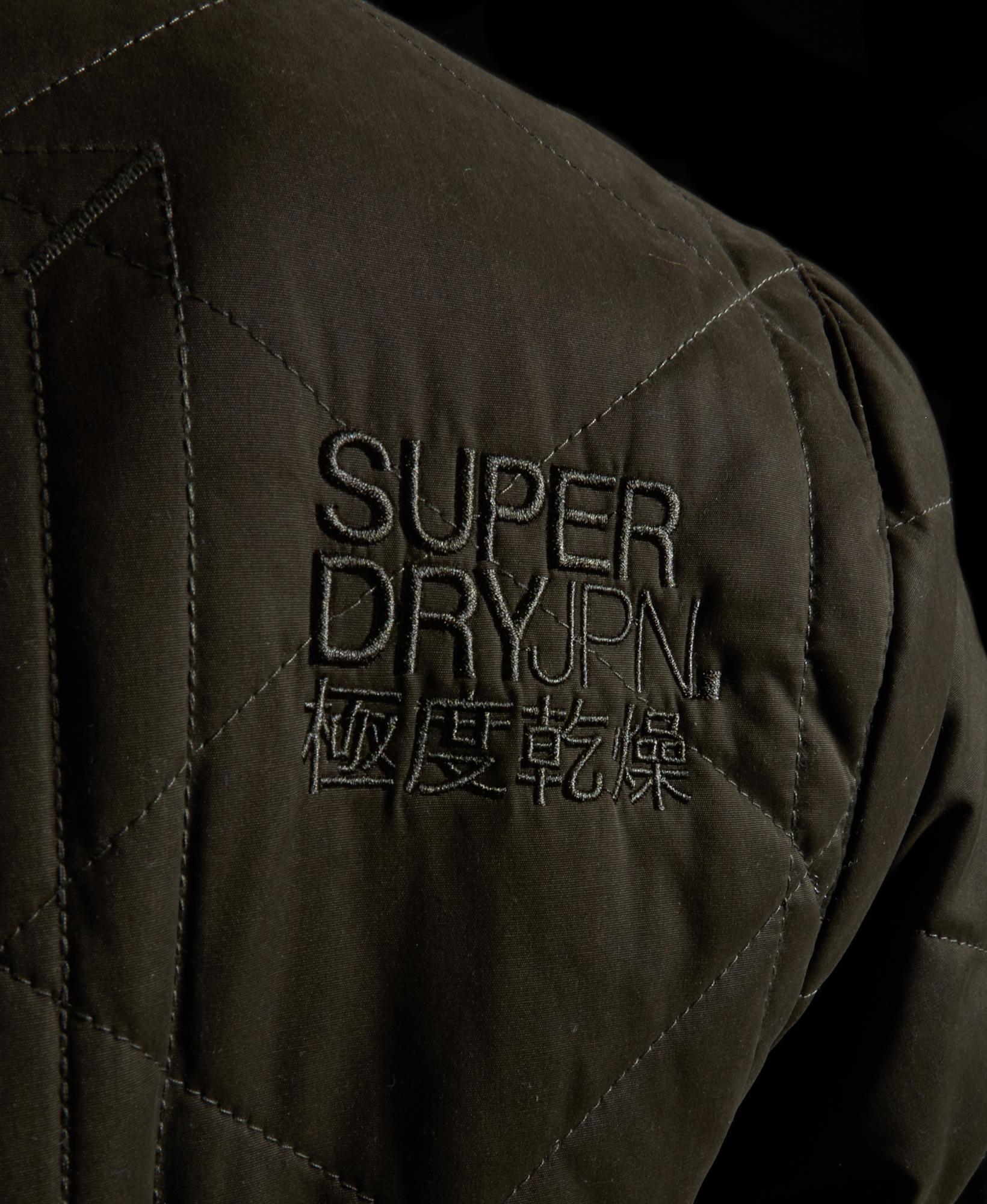 Mens superdry hunter parka jacket