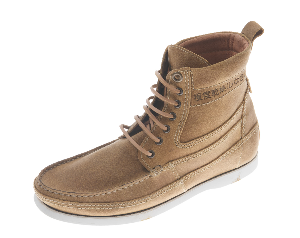 new mens superdry horizon boots sand suede brown