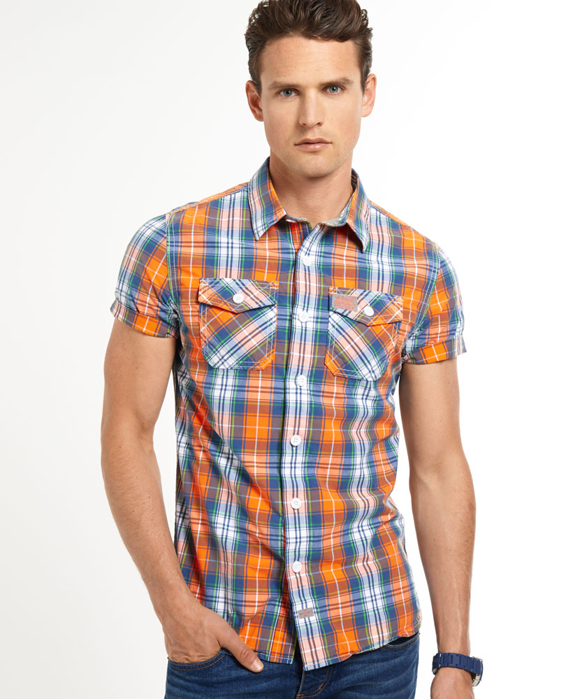 The gallery for --> Check Shirt Design For Men