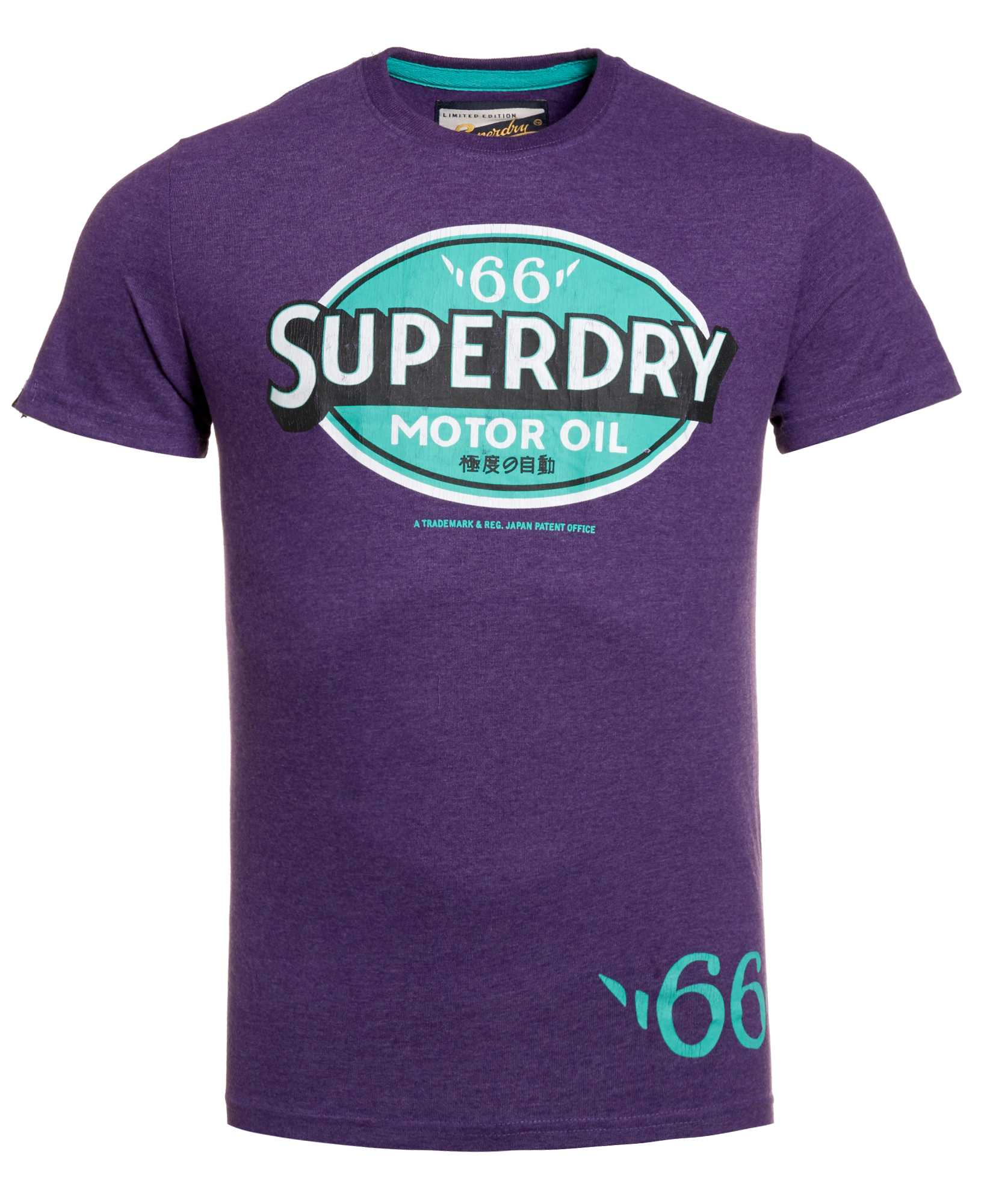 New Mens Superdry Factory Second Reworked Motor Oil T
