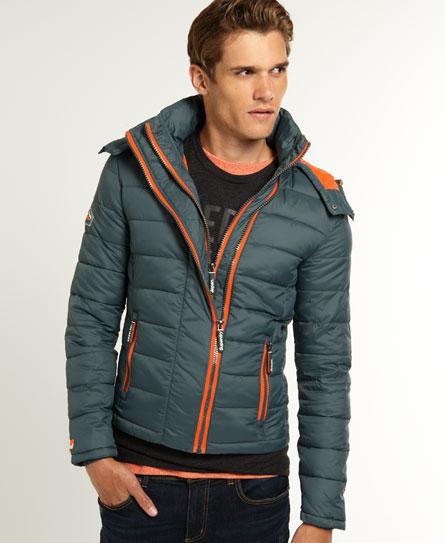 new mens superdry fuji double zip jacket racing car green ebay. Black Bedroom Furniture Sets. Home Design Ideas