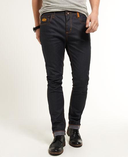 new mens superdry standard skinny jeans full raw. Black Bedroom Furniture Sets. Home Design Ideas
