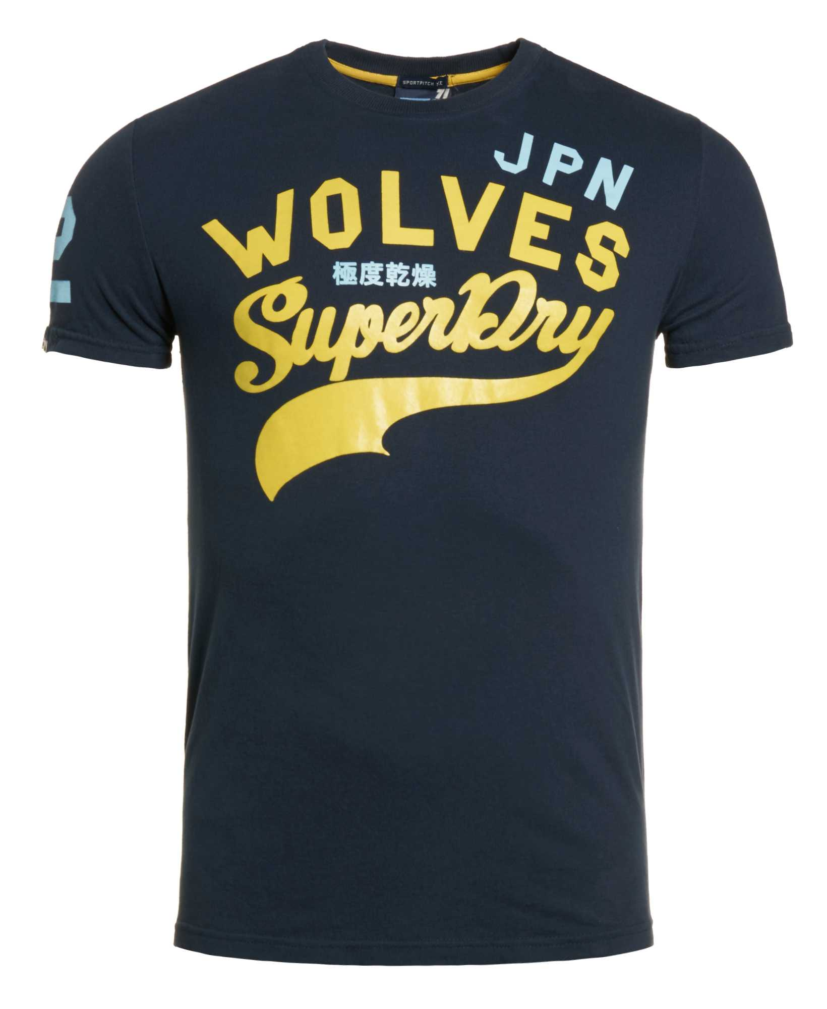 New Mens Superdry Factory Second New Sportpitch Wolves T