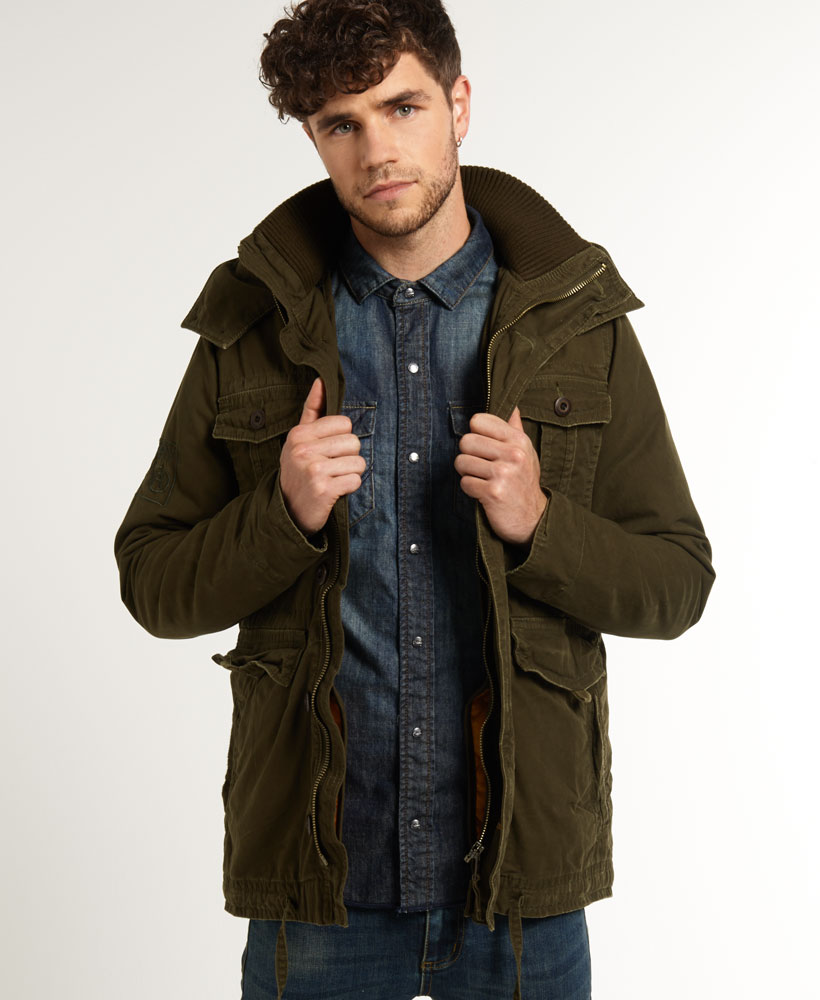 Khaki Green Parka Jacket | Jackets Review