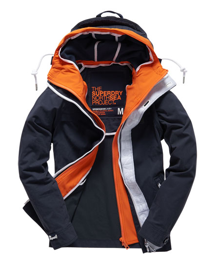 Herren superdry double atlantic jacke