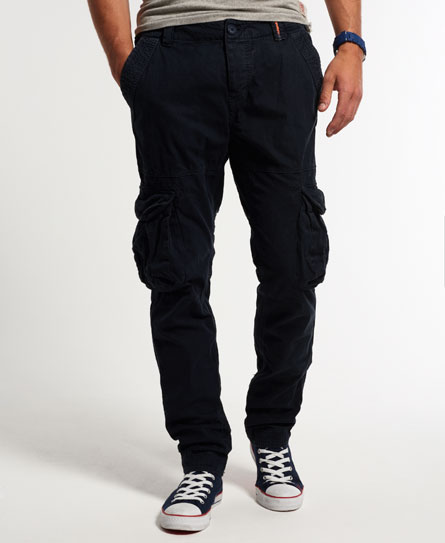superdry pantalon slim core cargo lite pour homme ebay. Black Bedroom Furniture Sets. Home Design Ideas