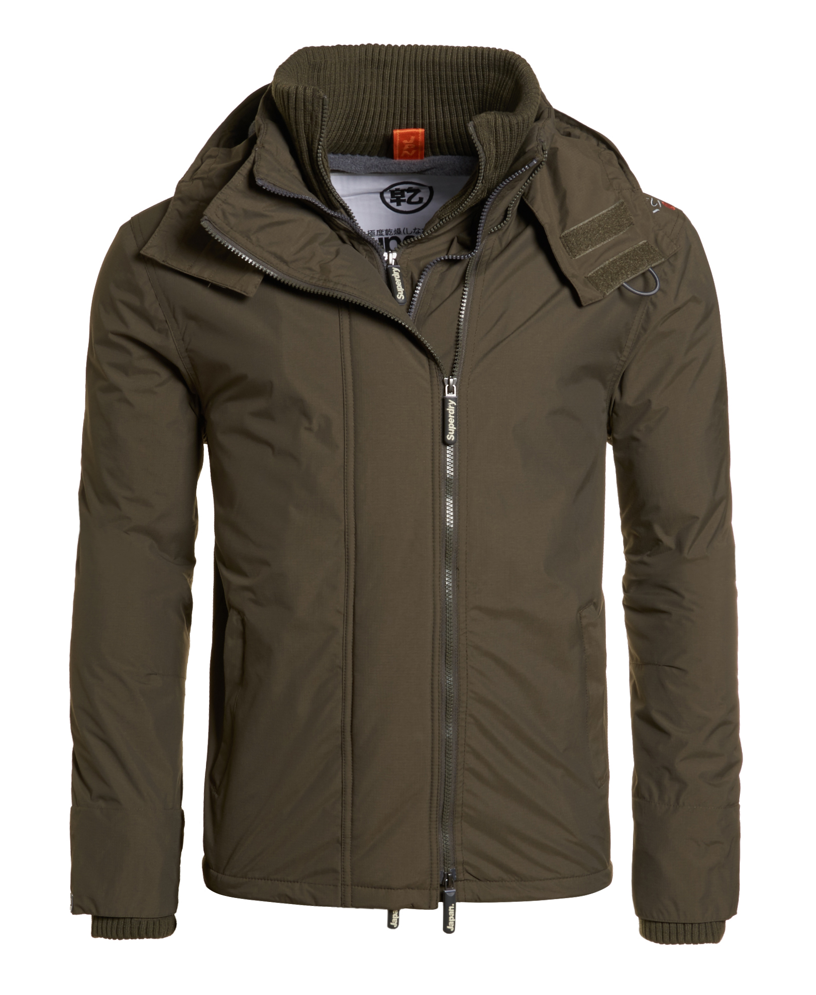 neue herren superdry arctic windcheater jacket army ebay. Black Bedroom Furniture Sets. Home Design Ideas