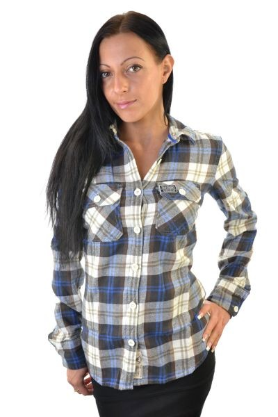 New Womens Superdry Lumberjack Brush Shirt CS