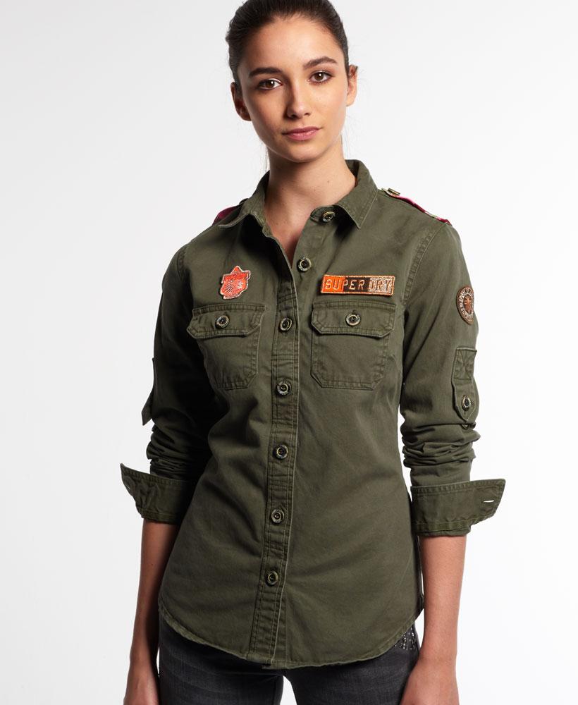 Military Blouse Shirt 15