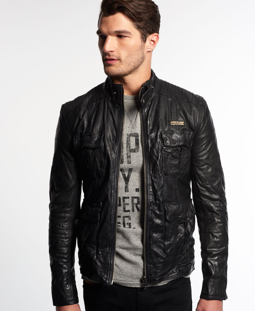 Leather jacket superdry - Leather Jacket Superdry 6