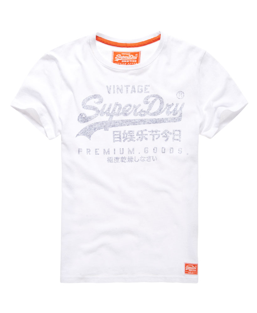 neues herren superdry premium goods t shirt optic ebay. Black Bedroom Furniture Sets. Home Design Ideas