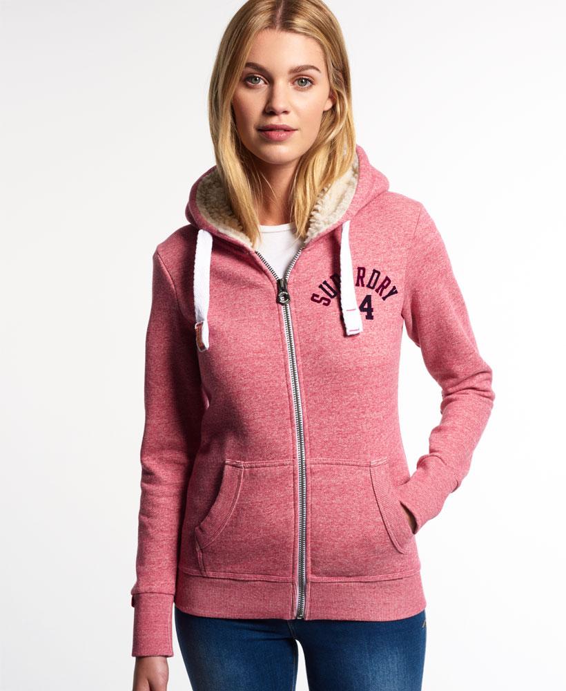Soft zip up hoodie