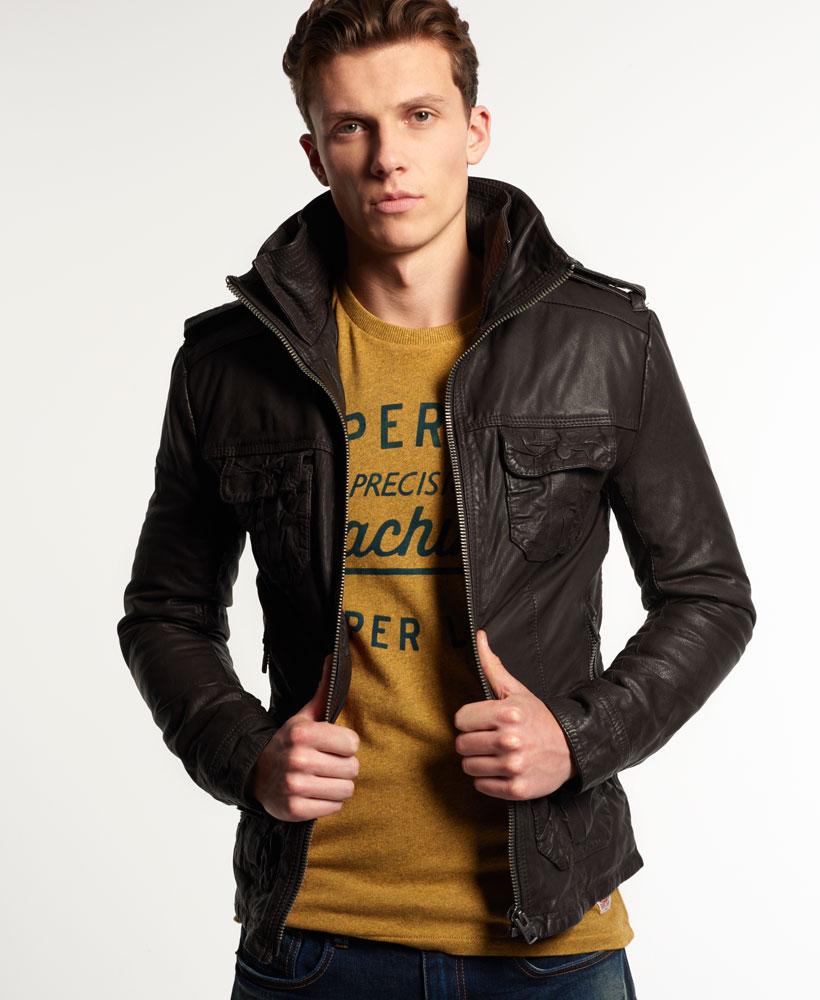 Leather jacket superdry - Leather Jacket Superdry 20