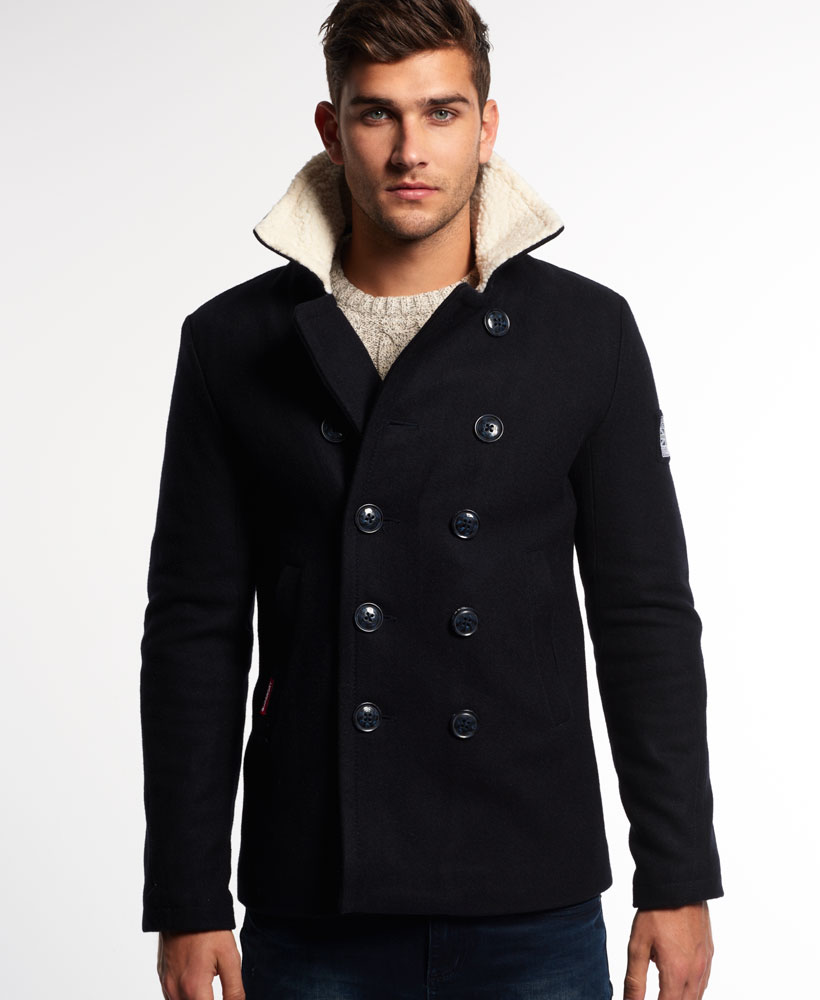 Superdry rookie peacoat black