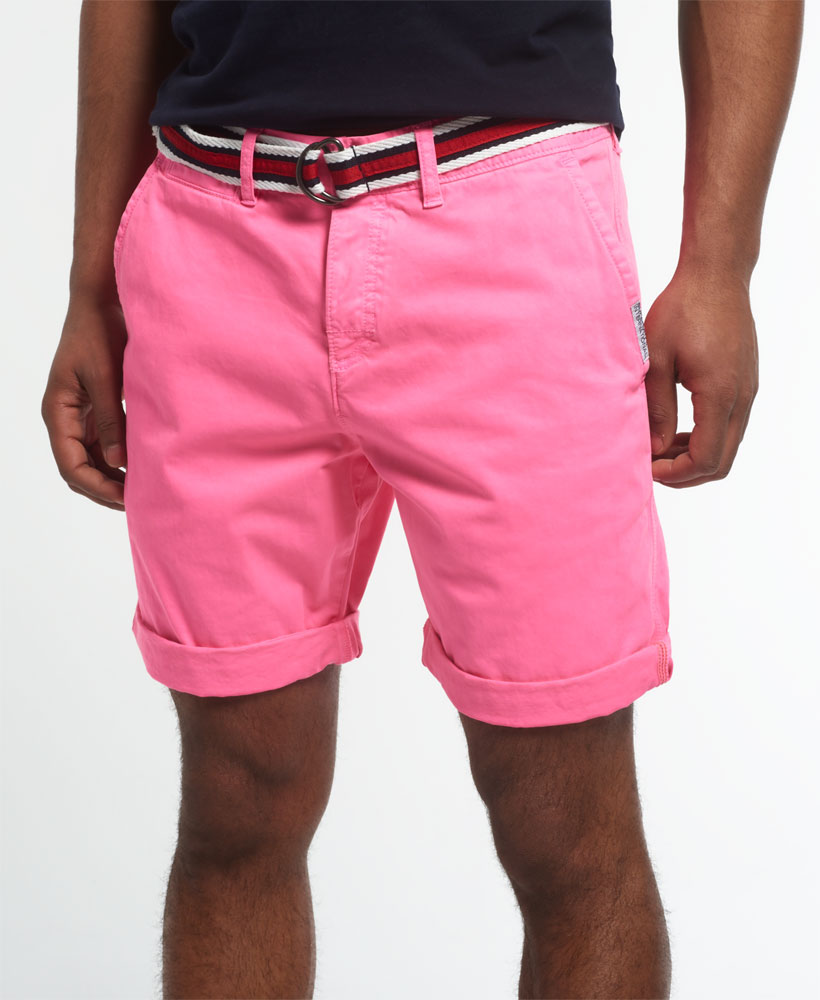 New Mens Superdry International Hyper Pop Chino Short Echo Pink | eBay