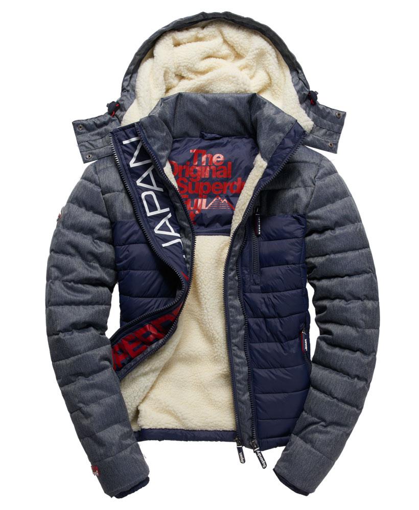 Superdry mens fuji hooded jacket