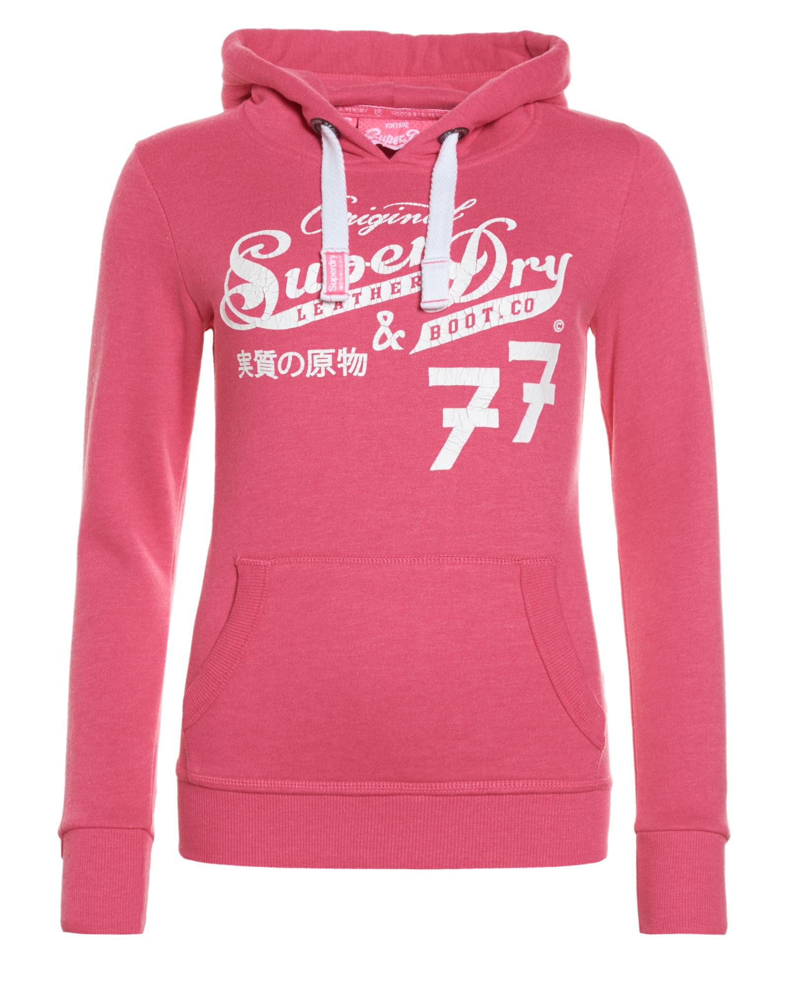 york university hoodie. new womens superdry original 77 entry hoodie paradise pink marl york university e