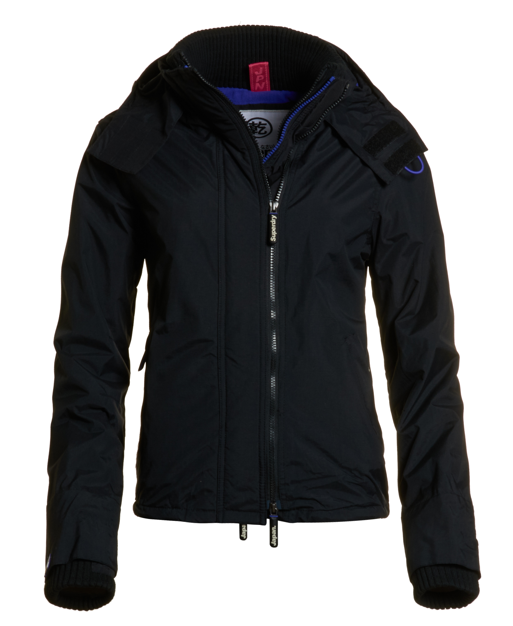 neue damen superdry jacke arctic windcheater black. Black Bedroom Furniture Sets. Home Design Ideas