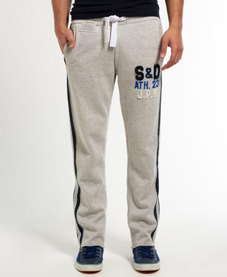 neue herren superdry applique 7s jogginghose light grey grindle ebay. Black Bedroom Furniture Sets. Home Design Ideas