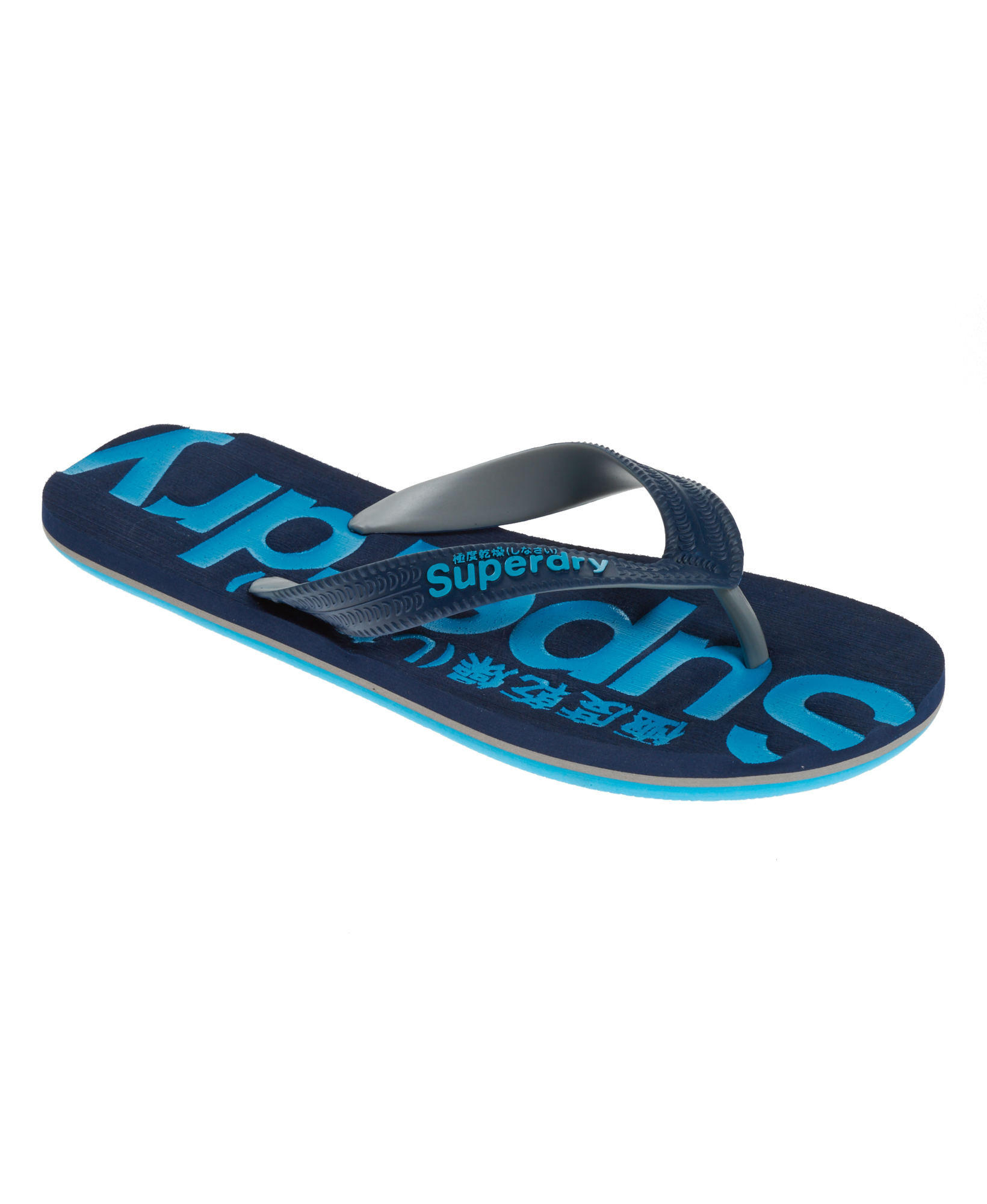 neue herren superdry flip flops navy. Black Bedroom Furniture Sets. Home Design Ideas