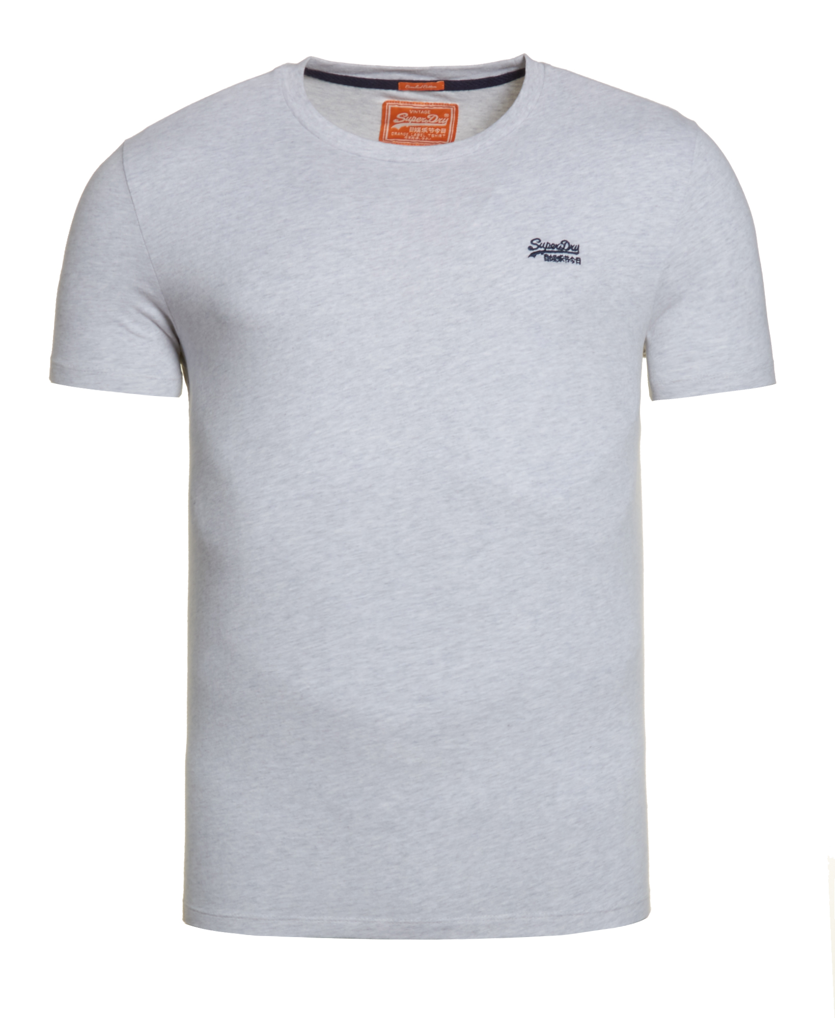 neues herren superdry vintage t shirt grey marl ebay. Black Bedroom Furniture Sets. Home Design Ideas