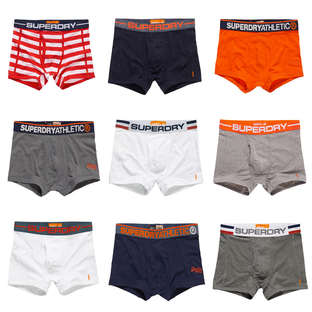 New Mens Superdry Boxers