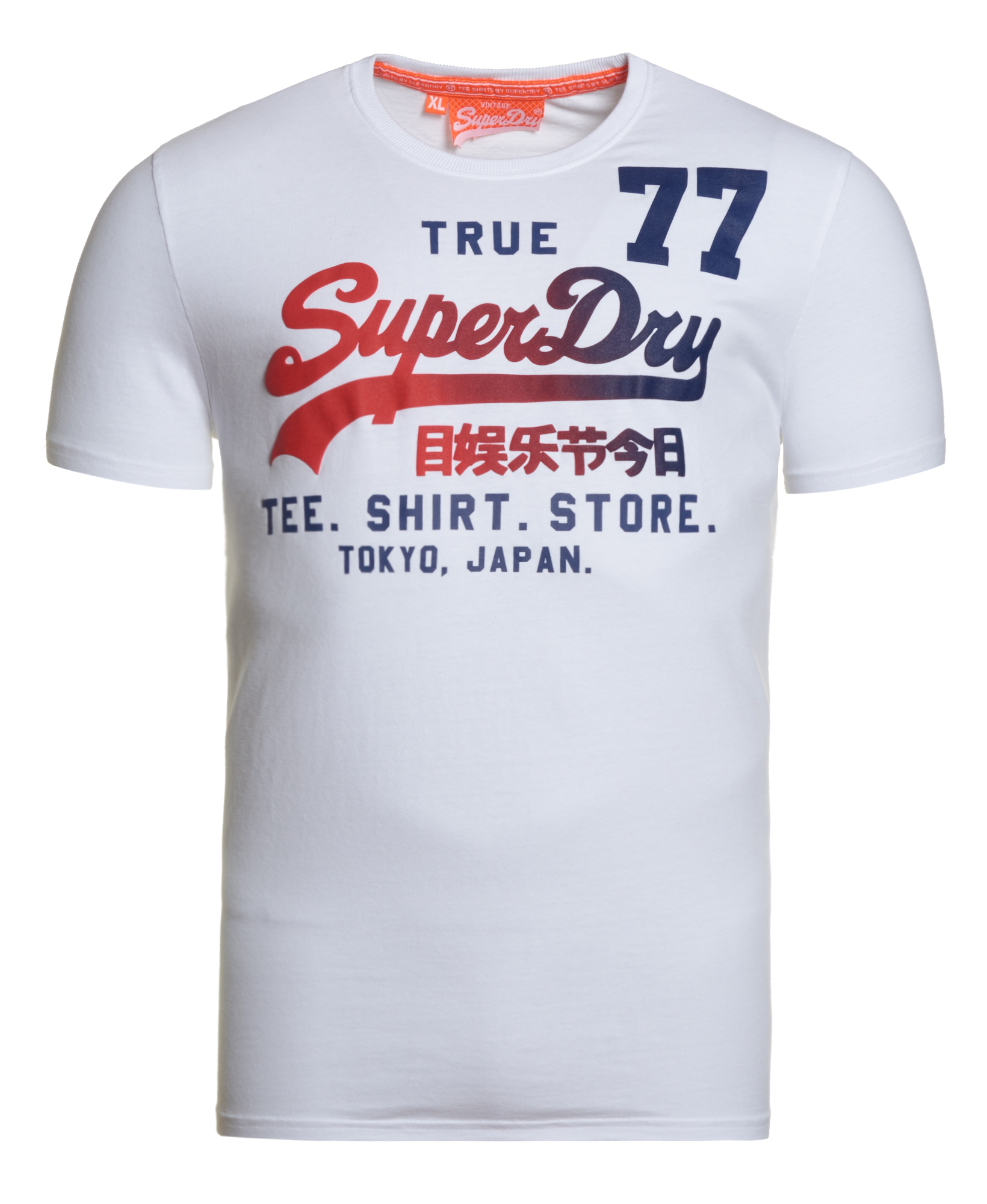 neues herren superdry shirt shop 77 t shirt optic ebay. Black Bedroom Furniture Sets. Home Design Ideas