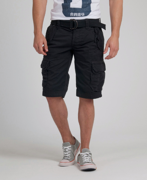 New Mens Superdry Heavy Core Cargo Shorts Piston Dark Grey   eBay