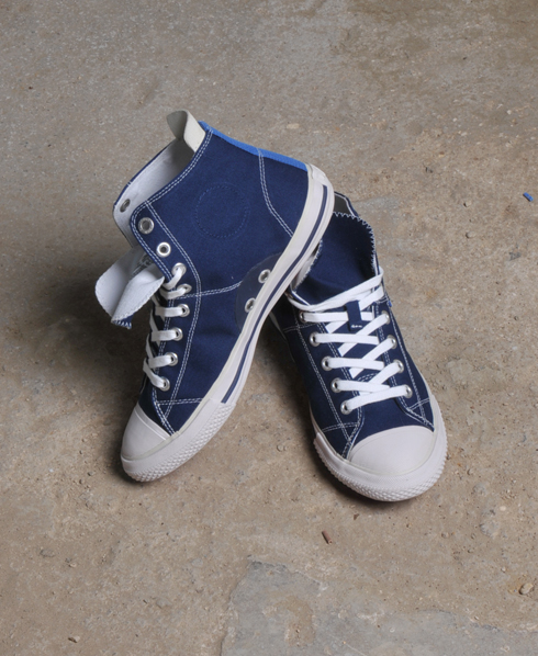New-Mens-Superdry-Super-Series-Hi-Top-Trainers-Dark-Navy-AA