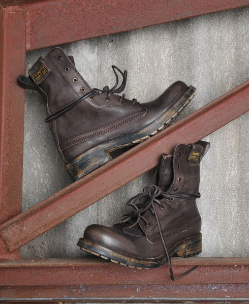 New-Mens-Superdry-New-Trawler-Boots-Brown-Leather