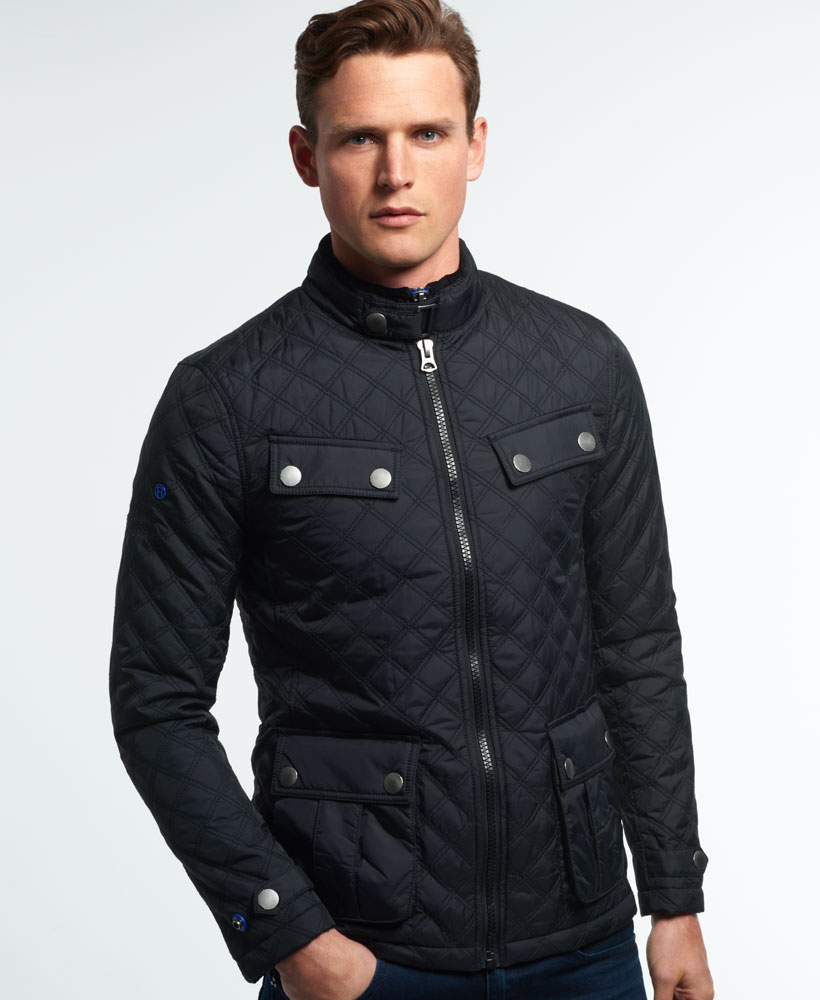 Discover the range of quilted jackets for men at ASOS. Shop our collection of padded and puffer jackets in formal and casual styles today. your browser is not supported. ASOS DESIGN quilted jacket with funnel neck in black. $ COLLUSION Unisex puffer jacket in black. $ SikSilk puffer jacket with faux fur hood in beige. $