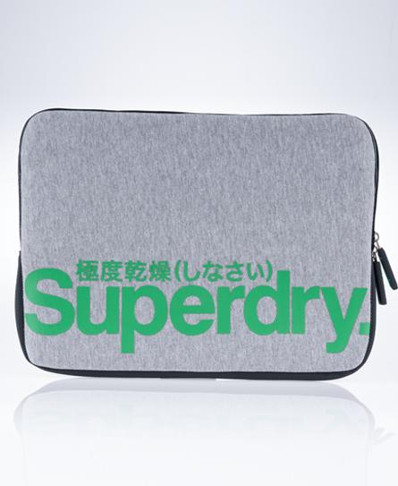 New-Superdry-Tenfive-Laptop-Sleeve-Bag-Grey-Marl